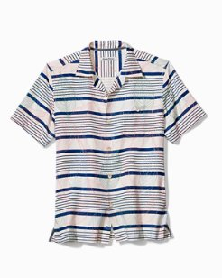 Isla Murada Stripe Camp Shirt