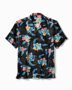 Salt Water Blooms Camp Shirt