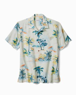 Florida Palms Camp Shirt