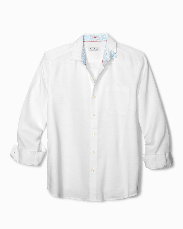 Main Image for Lanai Tides Stretch-Linen Shirt