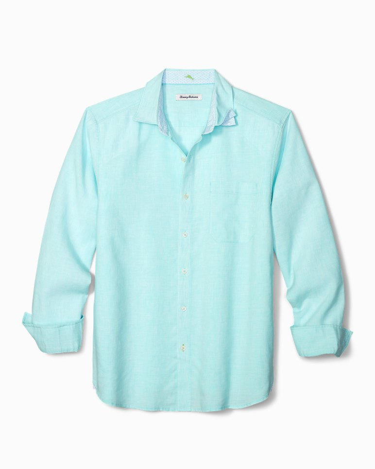 Main Image for Lanai Tides Stretch-Linen Shirt