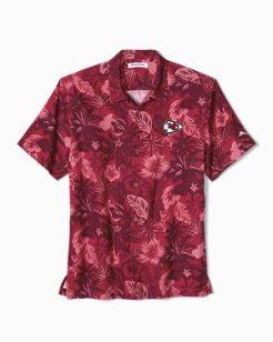12aa57b2d NFL Fuego Floral Camp Shirt