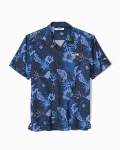 NFL Fuego Floral Camp Shirt
