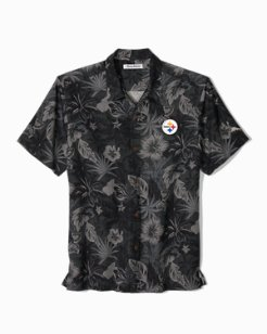 NFL Fuego Floral Camp Shirt