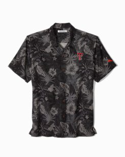 Collegiate Fuego Floral Camp Shirt