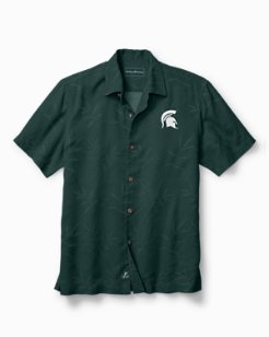 Collegiate Luau Floral Camp Shirt