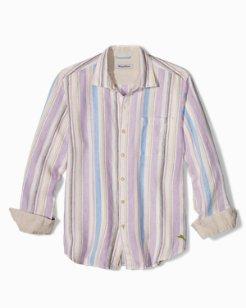 Mercado Stripe Linen Shirt
