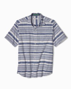 Raya Stripe Camp Shirt