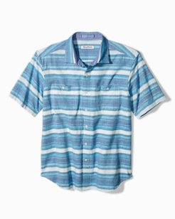 Breakwater Stripe Camp Shirt