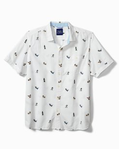 Disney Chill Out Mickey Camp Shirt