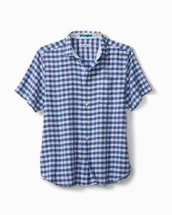 Gingham Glades Camp Shirt