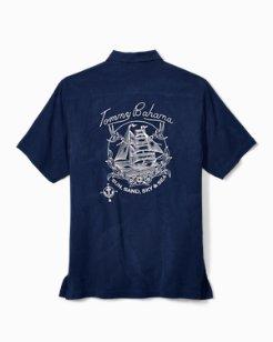 Sun, Sand, Sky And Sea Camp Shirt