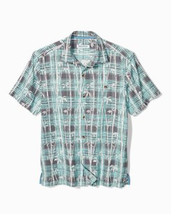Bianco Bamboo IslandZone® Camp Shirt
