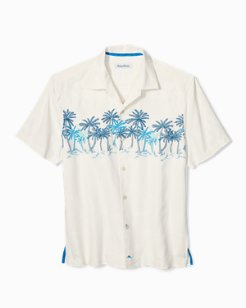 Puerto Vallarta Palms Camp Shirt