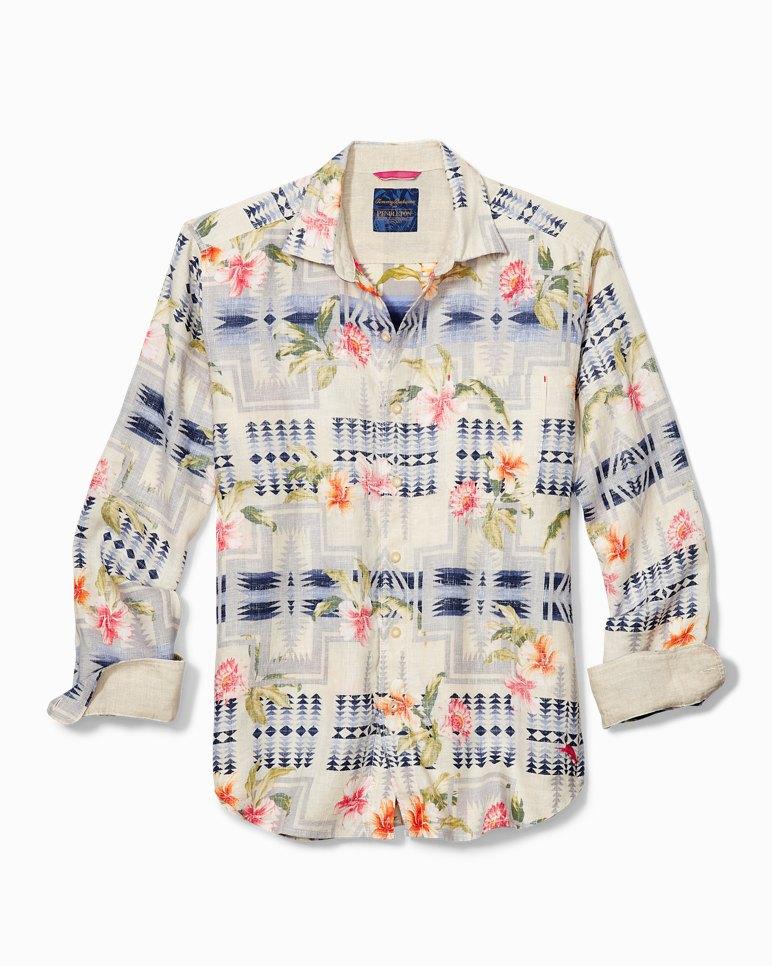 b1788ed2 Main Image for Tommy Bahama & Pendleton® Aloha Harding Breezer Long-Sleeve  Linen Shirt