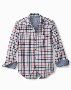 Duo Del Sol Plaid Reversible Shirt