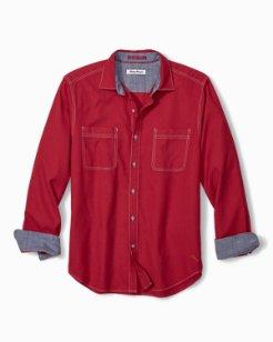 Bonfire Beach Flannel Shirt