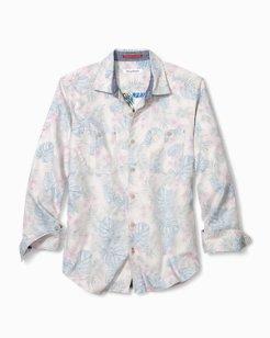 Beachy Palms Flannel Shirt