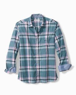 Plaid Palma Camp Shirt