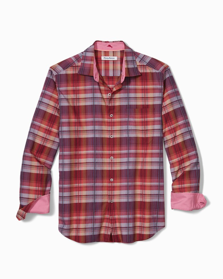 Main Image for Puerto Prism Plaid Shirt