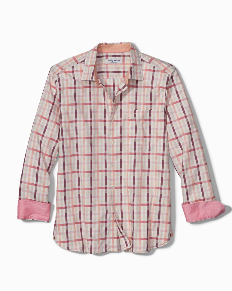 Main Image for Sea Break Plaid Stretch Shirt