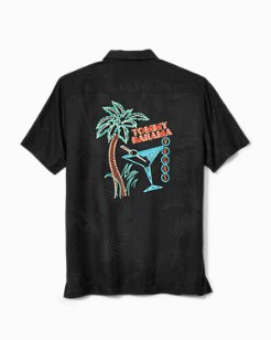 Palms Straight Up Camp Shirt