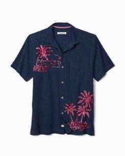 Las Playa Palms Camp Shirt