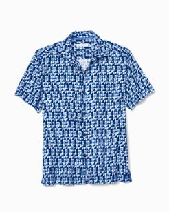 Poquito Geo Camp Shirt