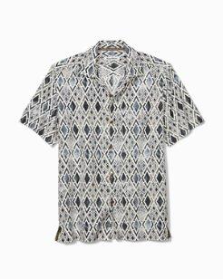 Diamond Tide Camp Shirt