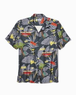 Poker In Paradise Camp Shirt