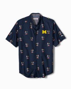 Collegiate Hula Oasis Camp Shirt