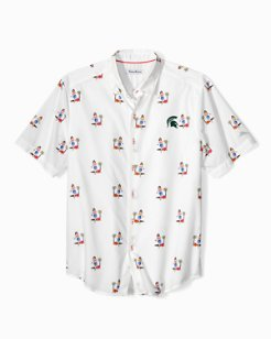 Collegiate Hula Oasis Camp Shirt