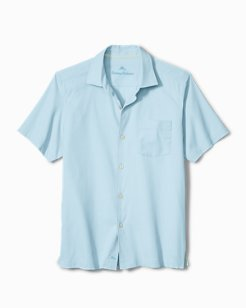 Catalina Twill Stretch Camp Shirt