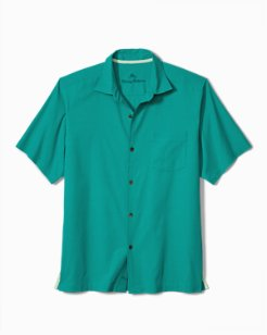 Catalina Twill Stretch Camp Shirt