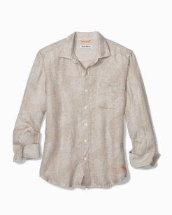 Frond Impressions Linen Shirt
