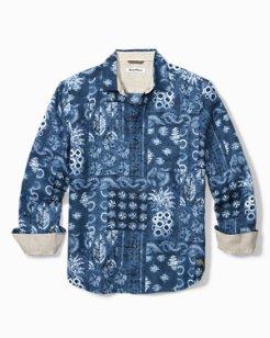 Piña Shibori Shirt