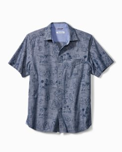 Tahiti Treasure Camp Shirt