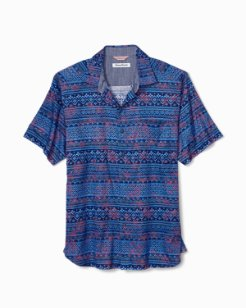 Bora Bora Batik Camp Shirt