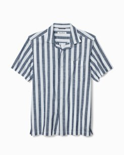 Tuvalu Stripe Camp Shirt