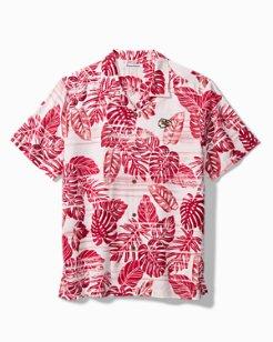 NFL Super Fan Silk Camp Shirt