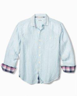 Sand Linen Stripe Shirt