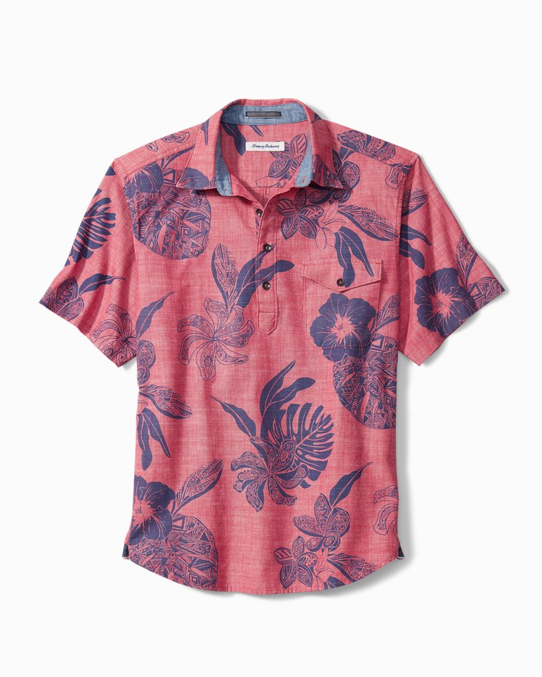 Main Image for Tatau Fronds Camp Shirt Popover