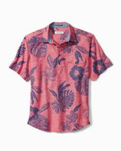 Tatau Fronds Camp Shirt Popover