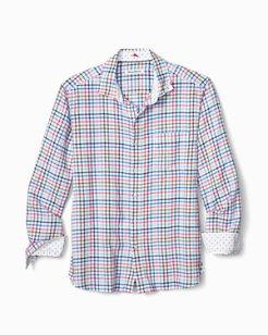 Haku Check Stretch-Linen Shirt