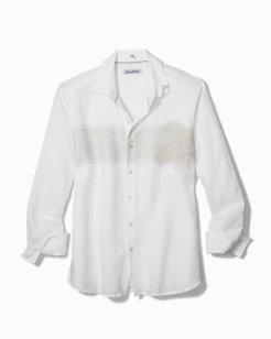 Maro Fronds Linen Shirt
