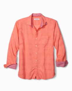 Costa Tautira Stretch-Linen Shirt