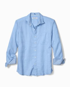 Costa Tautira Stretch-Linen Shirt