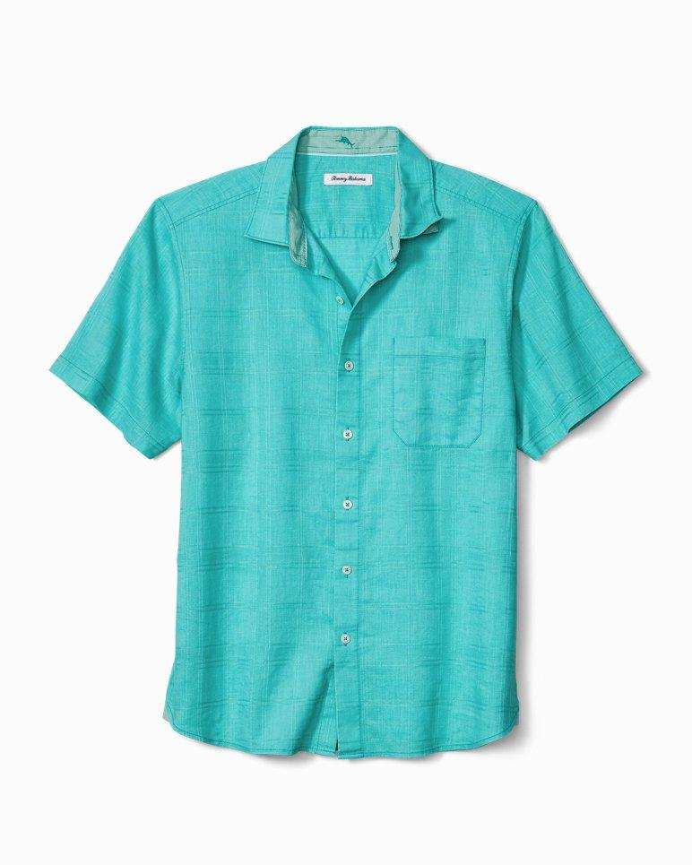 Main Image for Costa Tautira Stretch-Linen Camp Shirt