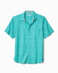 Costa Tautira Stretch-Linen Camp Shirt