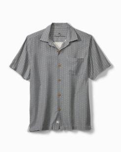 Dimensional Diamond Camp Shirt